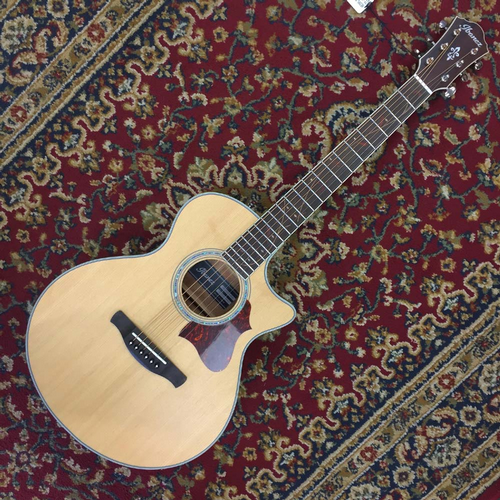 Ibanez AE205JR Electro Acoustic, Open Pore Natural with Gigbag